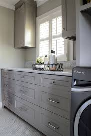 Gray Cabinets In Kitchen by Best 25 Grey Laundry Rooms Ideas On Pinterest Bathroom Paint