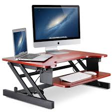 stand up desk multiple monitors standing desk little tree 32in height adjustable stand up desk