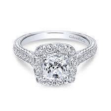white engagement rings images Engagement ring mounting 14k white gold diamond ring jpg