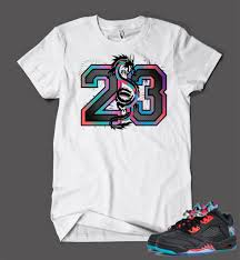 new year s t shirts t shirt to match retro air 5 low new year shoe