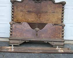 Antique Headboard And Footboard Beds U0026 Headboards Vintage Etsy Nz