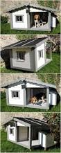 cute dog house made with wood pallets pallet ideas