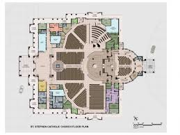 catholic church floor plan designs st stephen launches caign to build new church bloomingdale fl