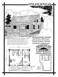 Log Cabin Blueprints Cheap Cabin Kits Preassembled Log Homes And Cabins By Homestead