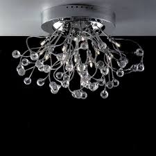 Crystal Ceiling Mount Light Fixture by Brizzo Lighting Stores 24