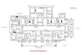 large bungalow house plans tientsin bungalow house floor plans large size homescorner