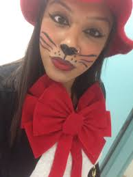 halloween kitty face cat in the hat halloween make up costumes pinterest cat