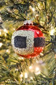 glitter diy santa belt ornament shelterness