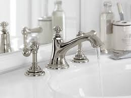 How To Install A Faucet Bathroom K 72759 Artifacts Bathroom Sink Spout With Bell Design Kohler