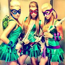 Ninja Turtle Womens Halloween Costumes 60 Awesome Girlfriend Group Costume Ideas 2017