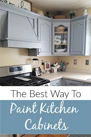 how to update kitchen cabinets without replacing them the best way to paint kitchen cabinets affordable update