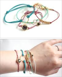 cord bracelet with charm images Tutorial leather cord bracelets these are 10 minute projects jpg