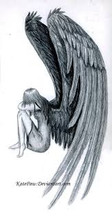 fallen angel drawing 1000 ideas about fallen angel tattoo on