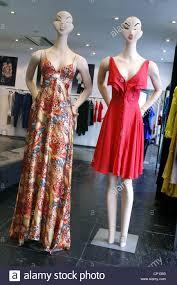 luxury designer dresses display stock photos u0026 luxury designer