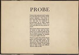 amazon com probe parker brothers game of words 1964 edition