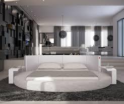 design polsterbett rundbett asis 140x200 cm weiss schlafzimmermöbel polsterbett 140