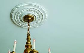 Medallion For Light Fixture Ceiling Medallions For All Styles This House