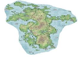 Map Generator D D Thanks To Donjon And Paint Net For This Map Of My New Continent