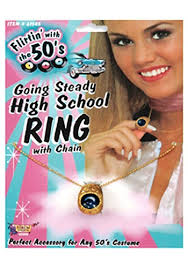 high school class necklaces high school class ring necklace