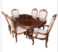 bob mackie american drew formal dining room table chairs buffet