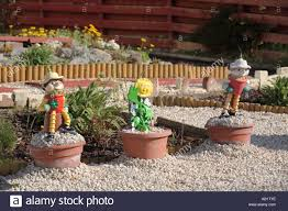 bill and ben the flower pot stock photo royalty free image