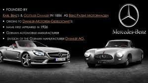 mercedes subsidiaries mercedes its still a car caign