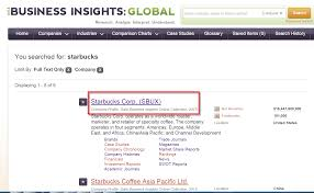 q how do i cite a company profile from business insights