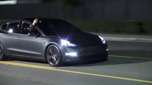 tesla outside tesla model 3 month is here cleantechnica