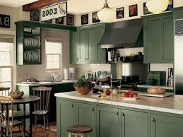 dark green kitchen cabinets the warm and cool green kitchen