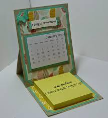 Small Easel Desk Calendar Linda K U0027s Stampin U0027 Page Stampin U0027 Up U0027s Best Year Ever Easel