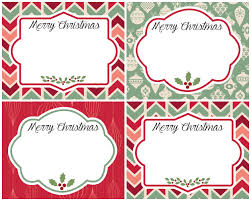 vintage christmas gift tags free printables refresh restyle