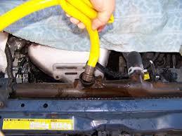 toyota tacoma coolant change diy coolant flush maintenance corolla 93 97 toyota nation