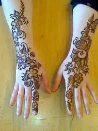 mehendi design back side of with popular inspirational in india