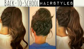 Simple But Elegant Hairstyles For Long Hair by Learn 3 Cute Everyday Casual Hairstyles Updos Hair Tutorial Videos