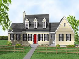 compact staircase cape cod cottage house plans cape cod house