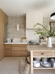 deco cuisine blanc et cuisine en bois blanc fabulous indogate idee deco cuisine annee