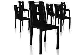 lot de 6 chaises salle à manger lot de 6 chaises design mano côtécosy