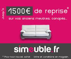 reprise canape reprise de votre ancien meuble jusqu à 1500 le déco