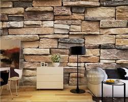 wallpaper design batu bata beibehang photo wallpaper modern 3d bricks modern simple brick stone