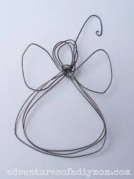how to make a wire angel ornament 12 days of christmas