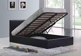 Ottoman Bed Black Birlea Berlin Ottoman Bed