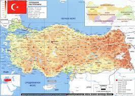 Turkey World Map Turkey