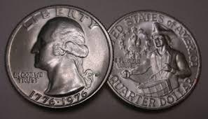 1776 to 1976 quarter dollar 1976 d ch bu washington quarter singles komka coins