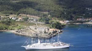 bureau veritas le havre cruise ship wind surf departs ferrol 4k