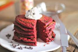 desserts with benefits healthy red velvet pancakes all natural
