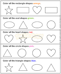 printable worksheet for 3 year olds shapes1 math worksheets preschool worksheets 3 year old class
