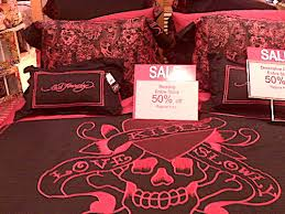 Ed Hardy Bed Set Bleeding Neon Douchey Bedding Available At Dillard S