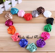 how to make baby headband 30pcs 16 colors diy hot mini satin flatback flowers make baby