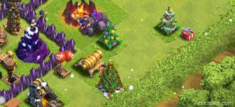 clash of clans dragon wallpaper christmas tree clash of clans land