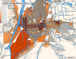 Portland Zoning Map by Ithaca Builds Zoning